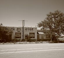 Route 66 - San Jon, New Mexico by Frank Romeo