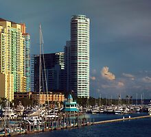 Miami Beach Before Sunset  by DDMITR