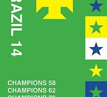 Brazil 2014, World Cup QFD #1 by danielofdesign