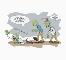 Funny Zombie joke by JamalsGarments
