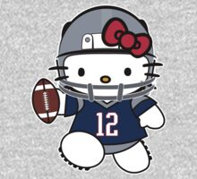 Hello Kitty Loves Tom Brady & The New England Patriots! by endlessimages