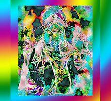 Ganesh 2 by Robyn Scafone