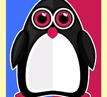 Penguin - Retro by Adamzworld
