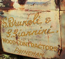 Wood Contractors by Tessa Manning