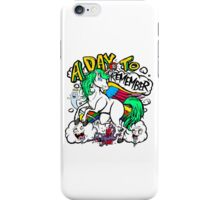 Hero Unicorn iPhone Case/Skin