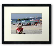 Jimmy the tourist Framed Print
