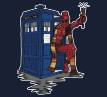 Deadpool has the TARDIS by sarahbevan11