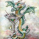 Martini Dragon by Ellen Marcus