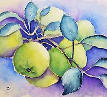Garden Apples by Laura Moore