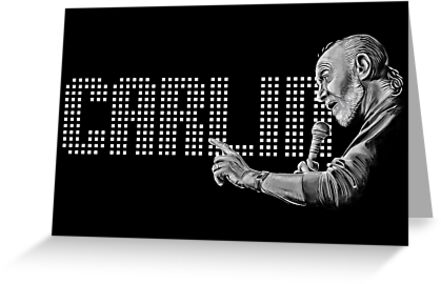 George Carlin - comedy legend by uberdoodles