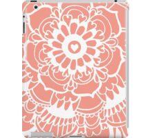 Coral Lacework Doodle iPad Case/Skin