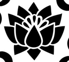 OM LOTUS - Buddhism - Symbol of spiritual strength  Sticker