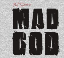 MAD GOD SIGNATURE LOGO IN CLASSIC BLACK by MadGod