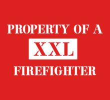 Property of a firefighter Kids Clothes
