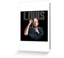 Louis C.K. - Comedy Legend Greeting Card