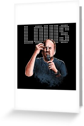 Louis C.K. - Comedy Legend by uberdoodles