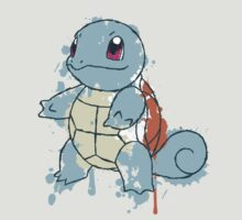 Squirtle Painted  by Keelin  Small