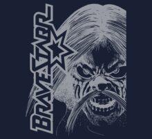 BraveStarr - Tex Hex # 2- White Line Art T-Shirt