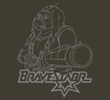 BraveStarr - Thirty Thirty and Sara Jane - White Line Art by DGArt