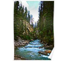 Johnstone Canyon Poster