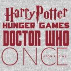 Custom Design - Harry Potter, Hunger Games, Doctor Who, Once upon a Time  by LovelyOwls