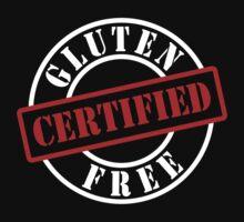 Certified Gluten Free by GlutenFreeTees
