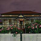 Night Houses # 3 by sedge808