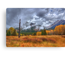 Sawback Fall Canvas Print