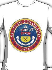 Colorado | State Seal | SteezeFactory.com T-Shirt