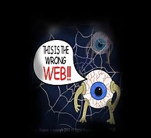 Li'l Effer Wrong Web by petellgra