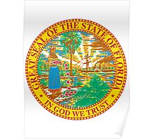 Florida Bricks | State Seal | SteezeFactory.com Poster