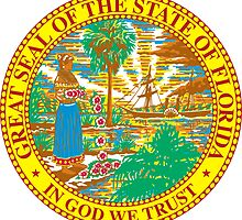 Florida Sunshine | State Seal | SteezeFactory.com by FreshThreadShop