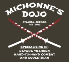 Michonne's Dojo by FANATEE