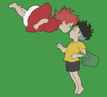 Ponyo and Sosuke Kids Clothes