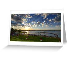 Eastern Beach, Geelong 2013 Greeting Card