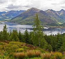 Five Sisters Of Kintail by Adrian Alford Photography