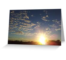 Let the light shine Greeting Card