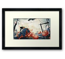 99 Red Balloons 2 Framed Print