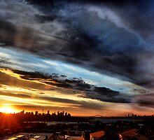 Smoke over Sydney by andreisky