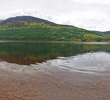 Loch Ness Panorama by Adrian Alford Photography