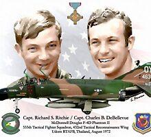 Capt. Richard S. Ritchie - Capt. Charles B. DeBellevue by A. Hermann