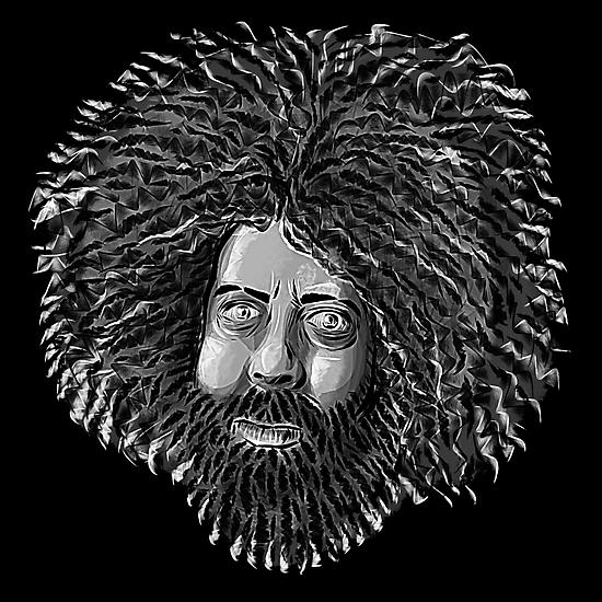 Reggie Watts - Comic Timing by uberdoodles