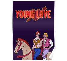Young Love (He-Man and Bow) Poster