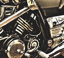 Classic Vehicles - Yamaha VMAX Engine by Jamie Candlin
