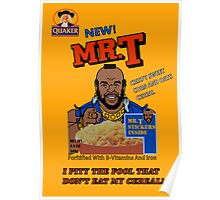 Mr. T - Cereal - T Shirt Poster