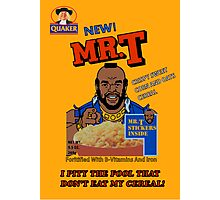Mr. T - Cereal - T Shirt Photographic Print