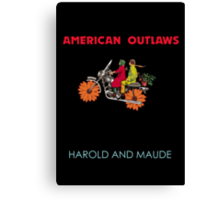 American Outlaws (Harold and Maude) Canvas Print