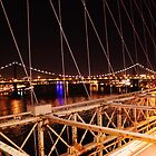 View of the Manhattan Bridge.. by VDLOZIMAGES
