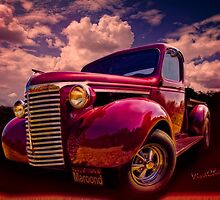 39 Chevy Pickup Maroon'd for Halloween Night at the VivaChas! Clubhouse! by ChasSinklier