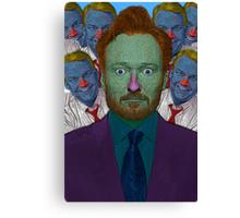 Conan O'Brien Culture Cloth Zinc Collection Canvas Print
